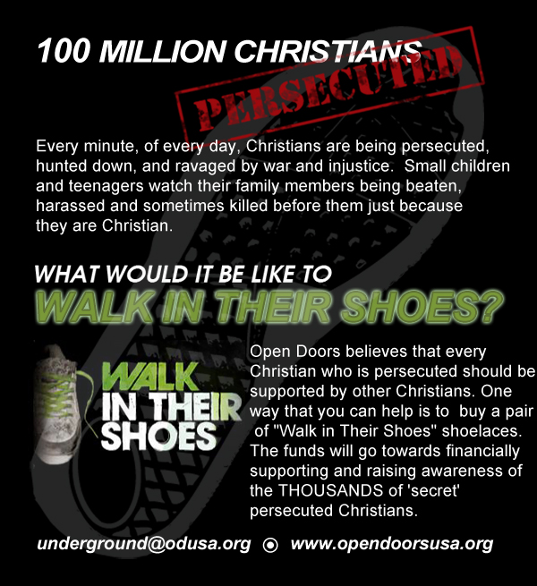 Walk with the Persecuted